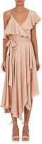 Zimmermann Women's Silk Satin Wrap Dress