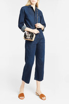 Citizens of Humanity Flight Button-Fastening Jumpsuit