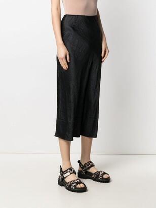 Ganni Mid-Length Slip Skirt