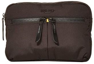 Knomo London Dalston Palermo Convertible Crossbody (Black) Cross Body Handbags