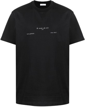 Ih Nom Uh Nit logo-print cotton T-shirt