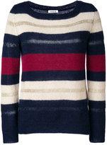 P.A.R.O.S.H. striped jumper - women - Polyamide/Polyester/Viscose/Wool - M