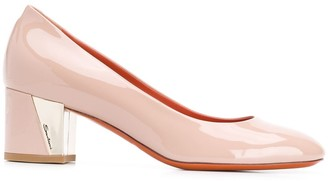Santoni Round Toe Pumps