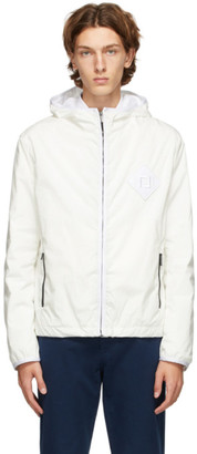 Fendi White Rain Forever Effect Jacket