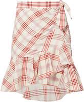 Veronica Beard Kaia Red Skirt