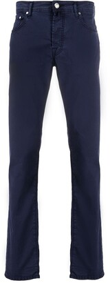Jacob Cohen Pocket-Square Skinny Trousers
