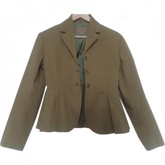 Romeo Gigli Green Cotton Jacket for Women