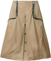 J.W.Anderson cumin two-way zipper skirt