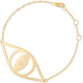 Jennifer Zeuner Jewelry Alba Evil Eye Bracelet with Diamond