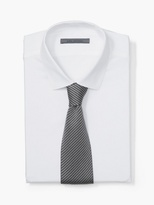 John Varvatos Silk Striped Knit Tie