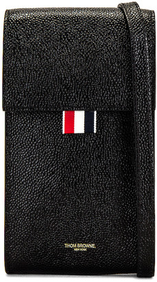 Thom Browne Phone Holder in Black | FWRD