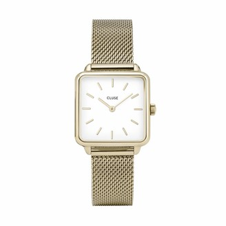 Cluse Womens Analogue Classic Quartz Watch with Stainless Steel Strap CL60002