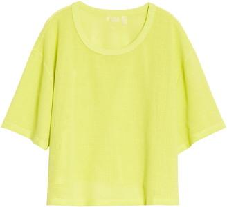 Zella Mesh Around Crop T-Shirt