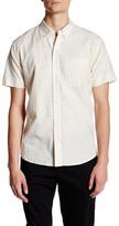 Billy Reid Claud Short Sleeve Trim Fit Shirt