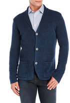 Sand Textured Knit Sweater Jacket