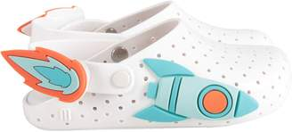Melissa White Boy Sandals With Rocket