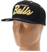 Mitchell & Ness Chicago Bulls NBA Black/Gold Collection (Chicago Bulls) - Hats