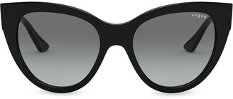 Vogue Eyewear Oversized Cats Eye Sunglasses