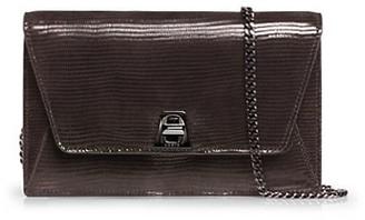 Akris Anouk Envelope Patent Leather Crossbody Bag