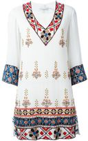 Alice + Olivia Alice+Olivia - embellished tunic dress - women - Cotton/Polyester/Spandex/Elastane - M