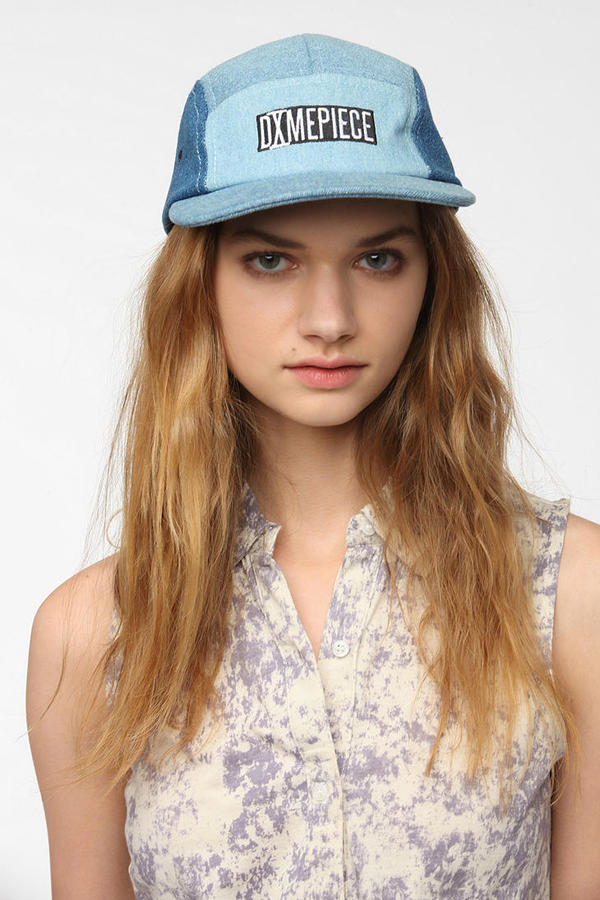 Urban Outfitters DimePiece 4-Way Denim 5-Panel Hat