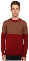 Vivienne Westwood Color Block Pullover