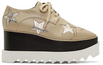 Stella McCartney Beige Stars Elyse Sneakers