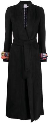 Stella Jean V-neck bead-style sleeve coat