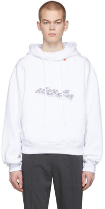 Off-White Off White White 3D Pencil Hoodie