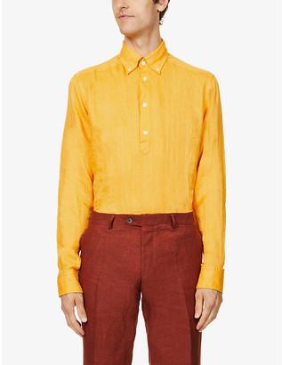 Eton Regular-fit linen shirt