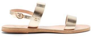 Ancient Greek Sandals Clio Metallic-leather Sandals - Gold