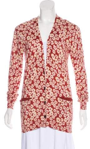 Marc by Marc Jacobs Floral Knit Cardigan