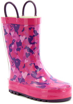 Western Chief Pink Heart Camo Rain Boot