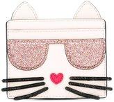 Karl Lagerfeld kitty card holder