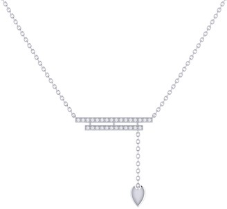 Lmj Wrecking Ball Lariat Necklace In Sterling Silver