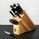 Crate & Barrel Shun ® Classic 11-Piece Knife Block Set