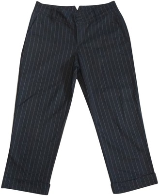 Drykorn Black Trousers for Women