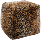Nourison Mina Victory Fur Leopard Throw Pillow
