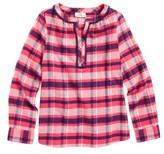 Vineyard Vines Girl's Plaid Flannel Top