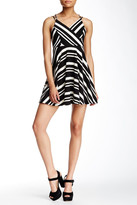Romeo & Juliet Couture Striped Fit & Flare Dress