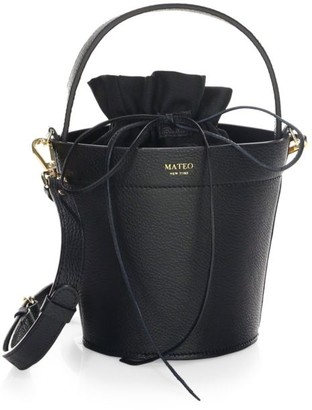 Mateo New York The Madeline Leather Bucket Bag