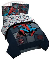 Marvel Spiderman 'Jump Kick' 3 Piece Twin Sheet Set