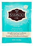 Hask Bamboo Strengthening Deep Conditioner Packet, 1.75 Ounce