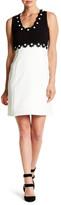 Taylor Daisy Embellished Shift Dress