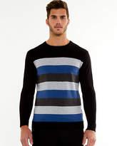 Le Château Stripe Crew Neck Sweater