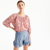 J.Crew The perfect top in Liberty® June's Meadow floral