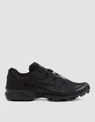 Salomon S/Lab Speedcross Black Ltd Sneaker in Black/Black/Autobahn