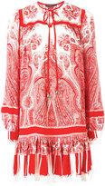 Alexander McQueen paisley print dress - women - Silk - 44