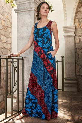Soft Surroundings Santa Lucia Dress