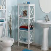 Asstd National Brand 4-Shelf Bathroom Shelf